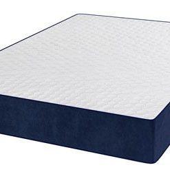 Breathable Cool Blue Memory Foam Mattress-Reflex+Memory+Latex Foam Mattress