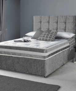 Designer Luxury Crushed Velvet Divan Beds | Home Delivery Service