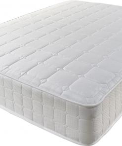 Healthy Sleep Open Coil Spring Memory Foam Mattress- Orthopedic Coil Spring Mattress