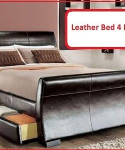 Serena faux Leather Beds