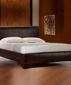 Nevio Modern Designer Leather Bed