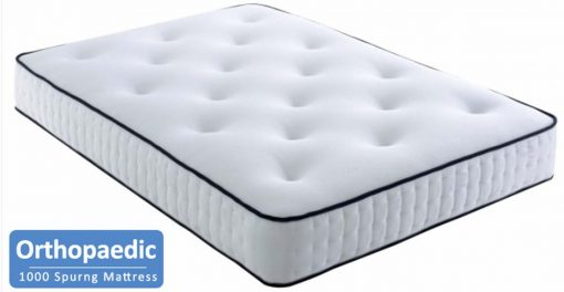 1000 pocket sprung orthopaedic mattress - divan bed with orthopaedic mattress - divan bed with mattress
