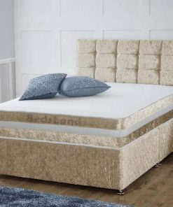 Champagne Divan Bed - Storage Beds - Divan Beds - Divan Bed With Drawers - Divan Headboard - Divan Bed Base - Divan Bed With Mattress