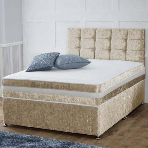 Divan Beds with Drawers and Mattress, Divan King Size Bed, Champagne Divan Bed - Storage Beds - Divan Beds - Divan Bed With Drawers - Divan Headboard - Divan Bed Base - Divan Bed With Mattress - divan king size bed