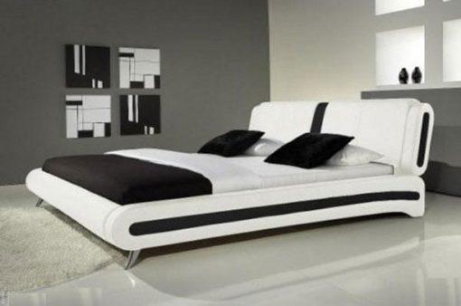 Ersilia Italian Designer Faux Leather Bed