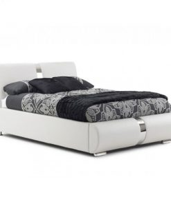 Marsia Designer Faux Leather Bed