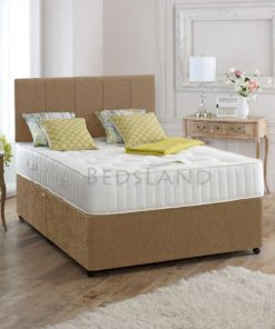 Divan Bed and mattress , velvet divan bed set - double divan bed - single divan bed - divan headboard - storage divan bed - divan bed with mattress - cheap divan bed - suede divan bed set -