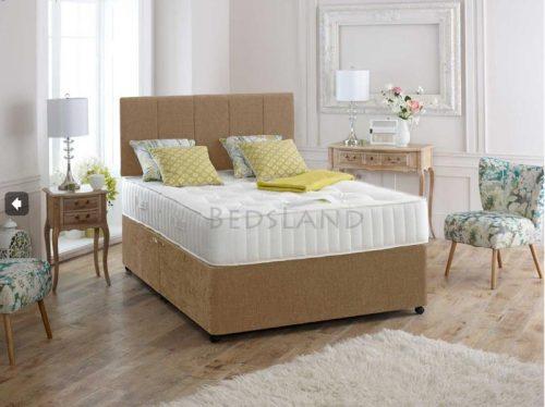 Divan Bed and mattress , velvet divan bed set - double divan bed - single divan bed - divan headboard - storage divan bed - divan bed with mattress - cheap divan bed - suede divan bed set -