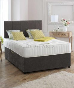 divan bed - storage bed - drawers - headboard - king size - double - single