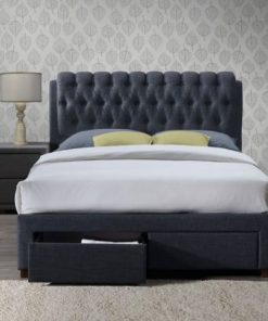 Upholstered sleigh beds - storage beds - single beds -small - double - king - super king size - mattress