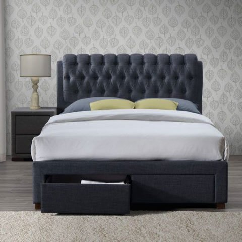 Upholstered beds - storage beds - single beds -small - double - king - super king size - mattress