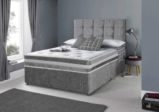 King Size Divan Bed, Divan Bed With Headboard