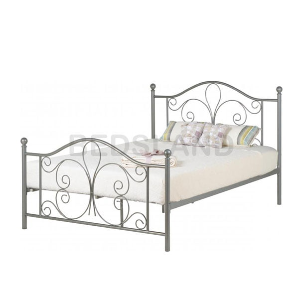 classic fit 06474 1a1b0 Annabel Metal Frame Bed With Mattress