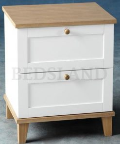 bedside table - lamp table - 2 drawers