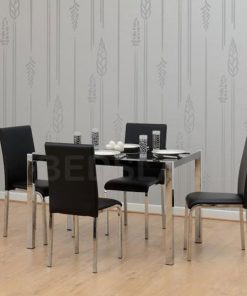Charisma Dining Table & Chairs Set - Cheap Price - Free Delivery - Free Return - dining set - chairs set - dining table - dining chairs