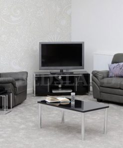 2 Door TV Unit - TV Table - TV Lounge Furniture - Free Delivery