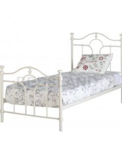 Keswick metal bed frame - cheap bed - iron bed - bed 3ft - metal 3ft bed - metal 4ft6 bed frame - metal bed with mattress