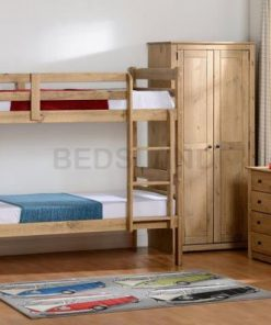 Bunk bed - cheap beds - wooden bunk bed - 3ft bed - 4ft bed - free delivery - cheap price beds - with mattress