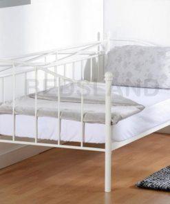 Pandora Sliding Rail with mattress option - metal bed frame - iron bed - cheap metal bed with mattress -free delivery