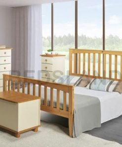5FT KING WOODEN BED FRAME - king size bed - wooden king size cheap beds - free delivery - free return