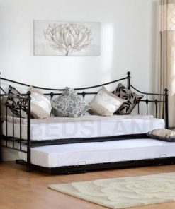 Torino metal bed frame - iron bed - cheap metal beds - free delivery - free return - mattress - 3ft single bed - 4ft6 double beds