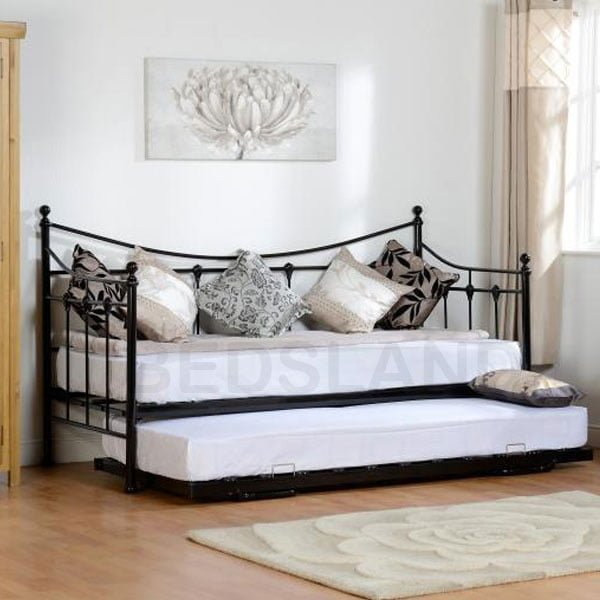new product 3e331 d832e Torino Day Metal Bed Frame Single & Double
