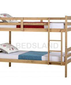 Wooden Bunk Bed Set With Mattress For Sale Free Delivery