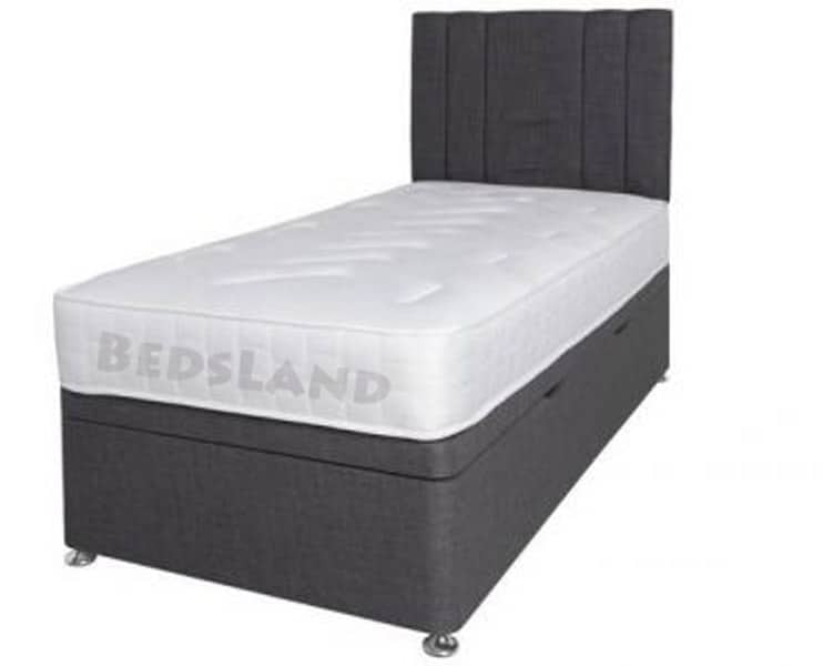 online store 926f1 05911 Single Charcoal Chenille With Liner Headboard