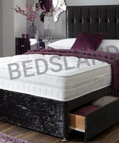 black velvet divan beds