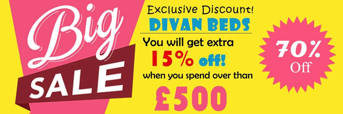 divan beds discount sale offer - cheap beds - headboard - storage beds - mattress - single - king - super - double - small - beds - bases - drawers - storage
