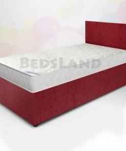 3ft bed - divan bed - single bed - red divan bed single - single divan bed with drawers - cheap divan bed