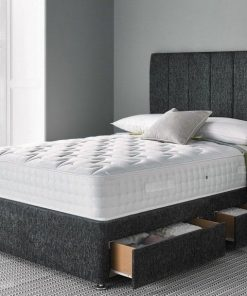 divan bed with 2 drawers storage