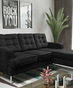 soho corner sofa sets - black corner sofa soho