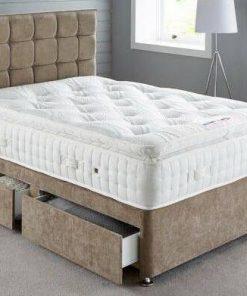4ft6 Mink Divan Bed
