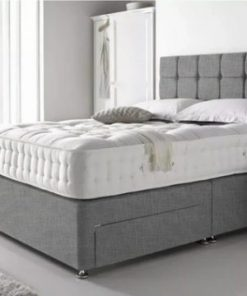 5ft grey Divan bed